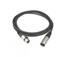 3RDMX-X - 3 Pin Plug DMX Lighting Cable