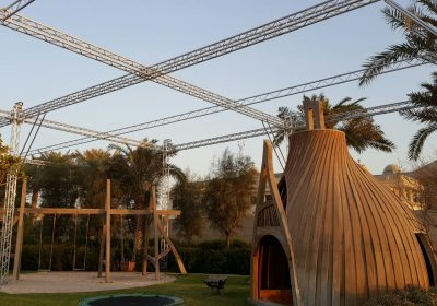 Botanical Garden in Kuwait to be covered with Eurtotruss, truss structure