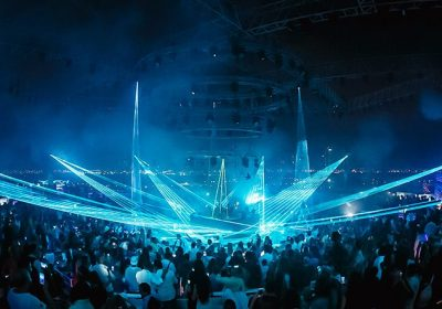 White club choses Procom Middle East for Laser show solution