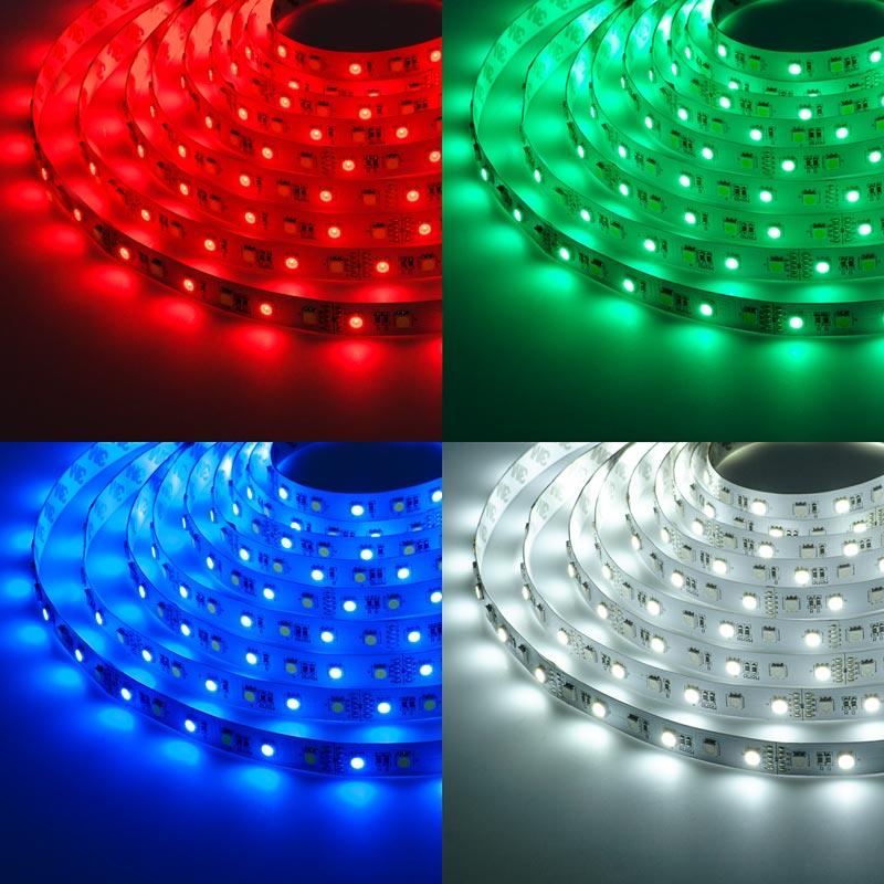 Waterproof RGB LED Strips