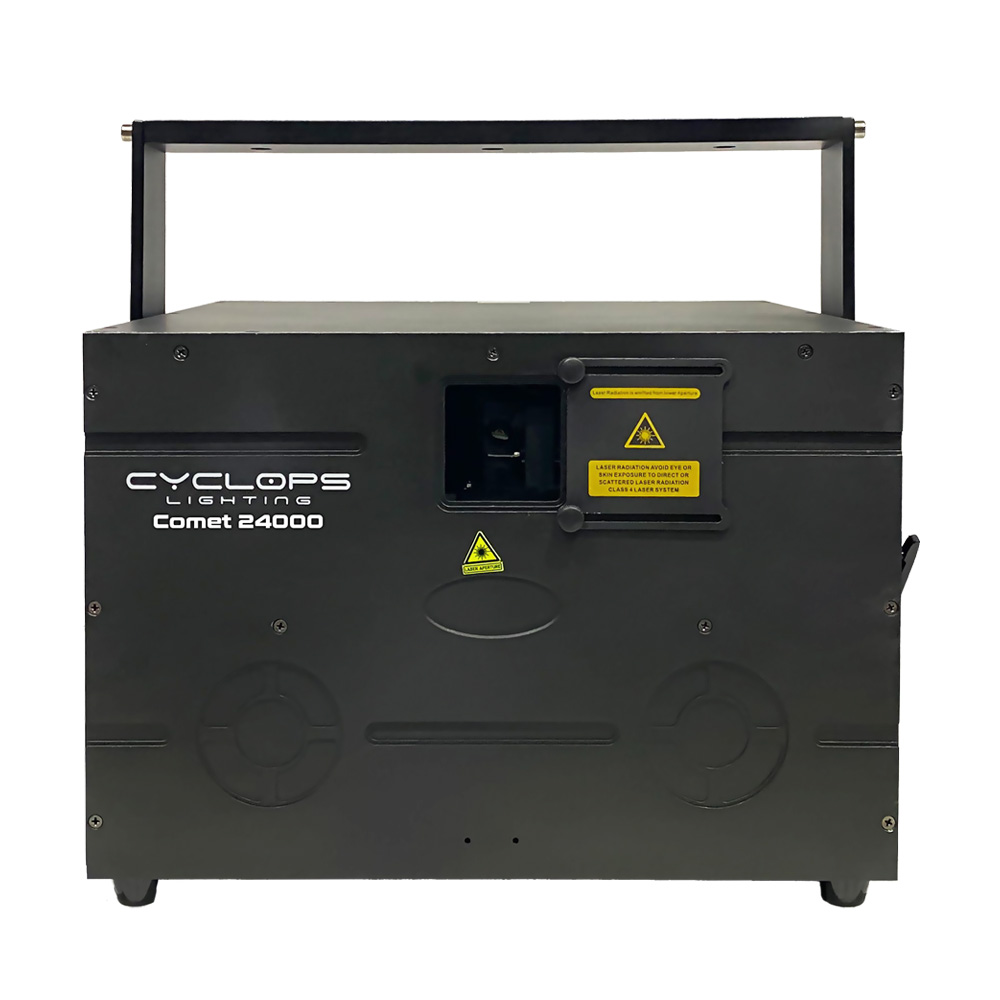 COMET 24000 - 24 watts RGB Laser Show System with Scanner