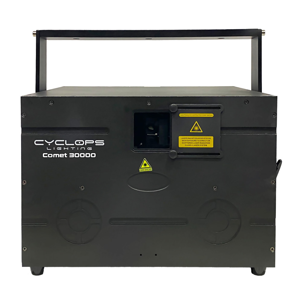 COMET 30000 - 30 watts RGB Laser Show System with Scanner