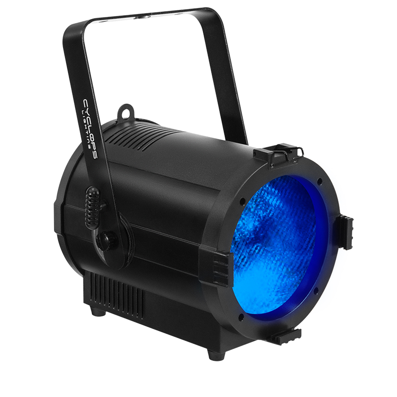 FR 200F - 200 watts RGBW powered LED Fresnel