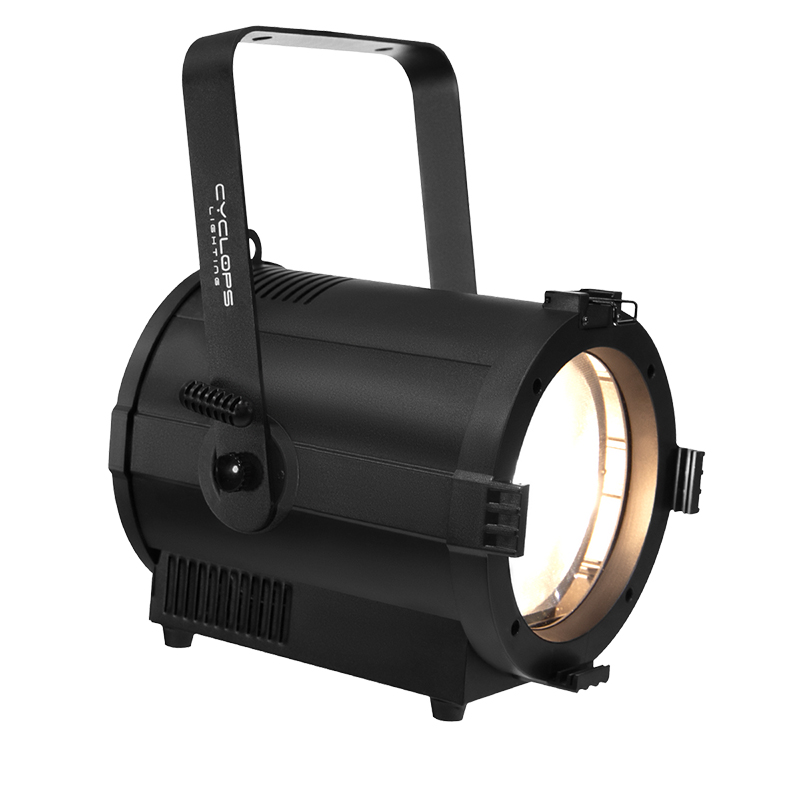 FR 200W - 200 watts Warm White powered LED Fresnel