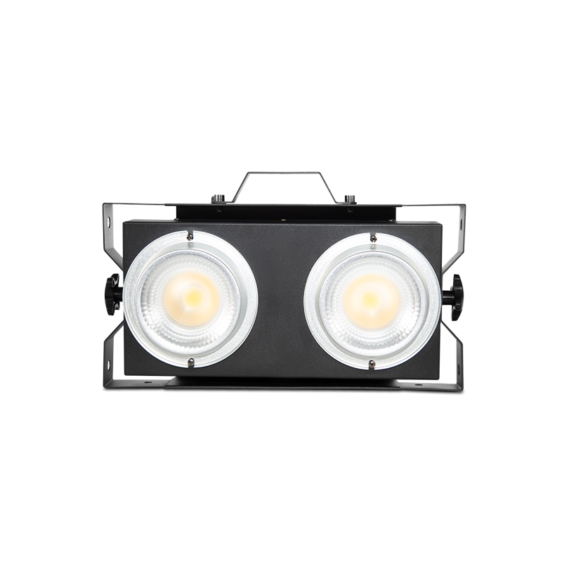 FLASH 200 - 2x100 watts warm white LED Blinder