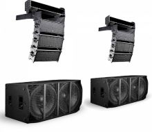 KH2SYS6 - Small, Steerable, Powered Line Array
