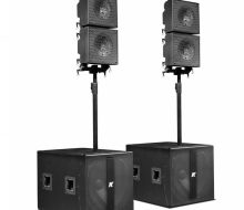 "KRX402 - Powered Mid-high 12"" Speakers"