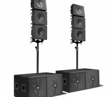 "KRX802 - Array, 6 Mid-high 12"" Coaxial Speaker"