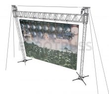 LED-BR-02- LED Screen Truss Bridge