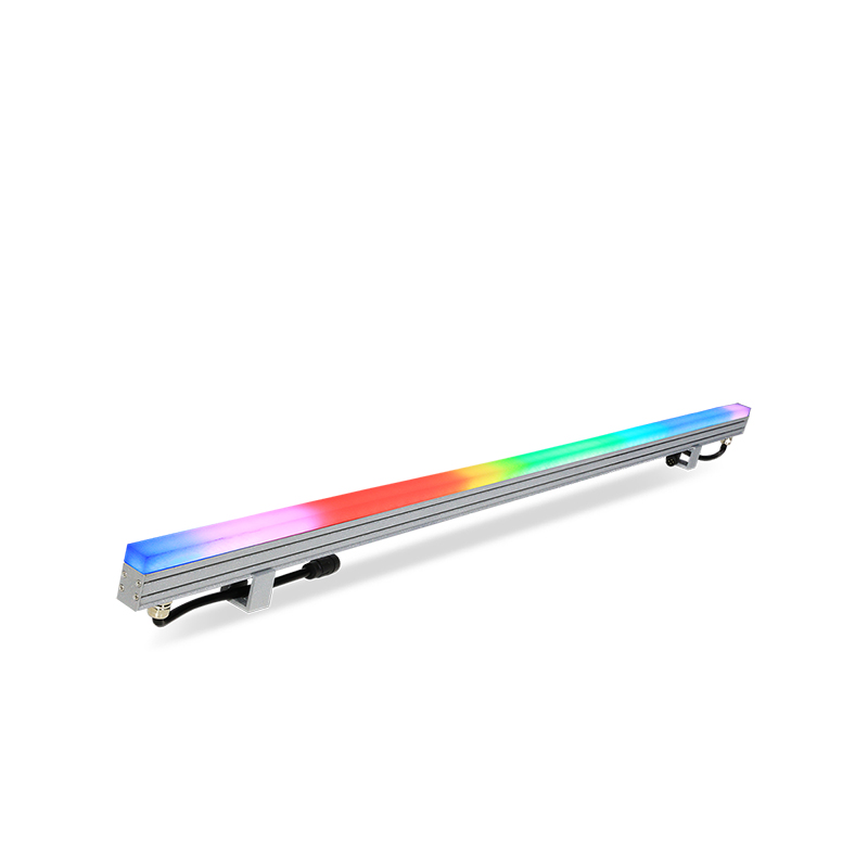 PIXIBAR SLIM 60-OS - Outdoor RGB Digital LED Slim Bar with Square Opal Diffuser
