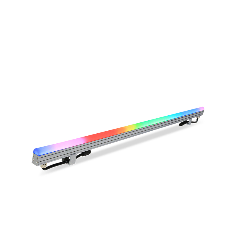 PIXIBAR SLIM 60-OD - Outdoor RGB Digital LED Slim Bar with Dome Opal Diffuser