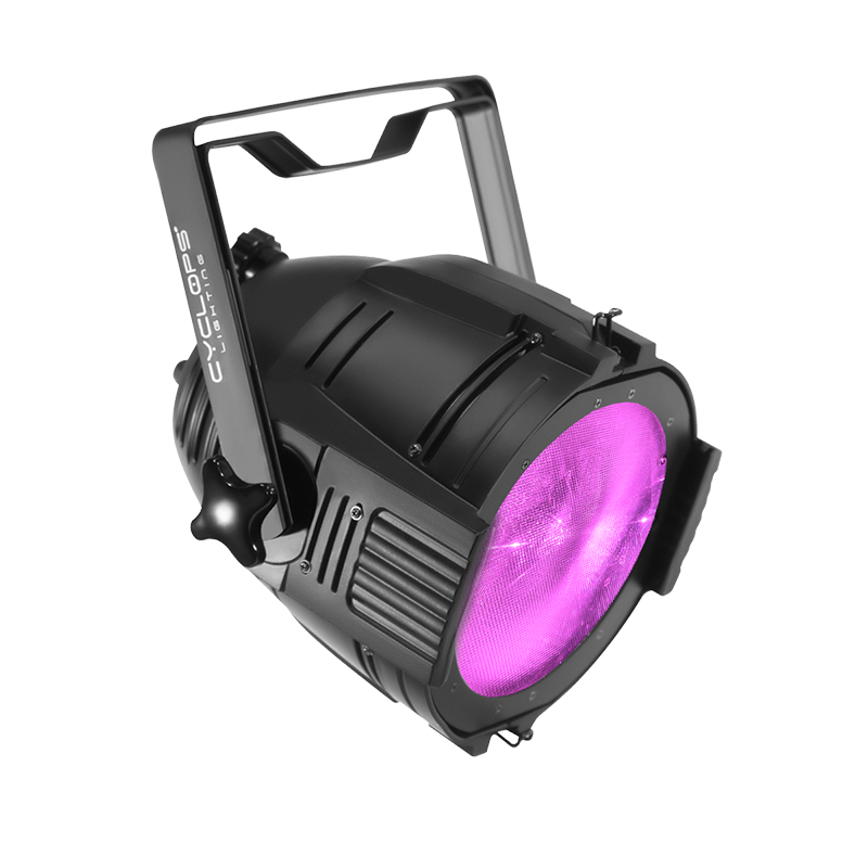 PAR 100UV - 100 watts powered UV COB PAR