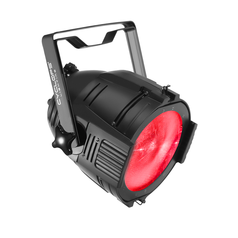 PAR 150FZ - 150 watts powered RGBW LED par with Zoom