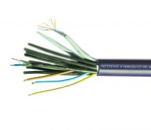 RDMX08/AC/CT - Composite Lighting Cable