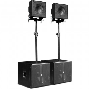 "KRX202 - Small, Powered, 12"" Coaxial Speakers"