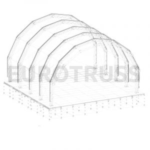 TR-10 - 12×10 Tunnel Roof