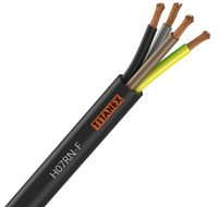 H07RN-F TITANEX 4G1.5, Industrial flexible rubber cable, 4 core x 1.5mm2