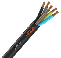 H07RN-F TITANEX 5G6, Industrial flexible rubber cable, 5 core x 6mm2
