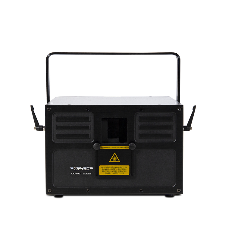 COMET 5000 - 5 watts RGB Laser Show System with Scanner