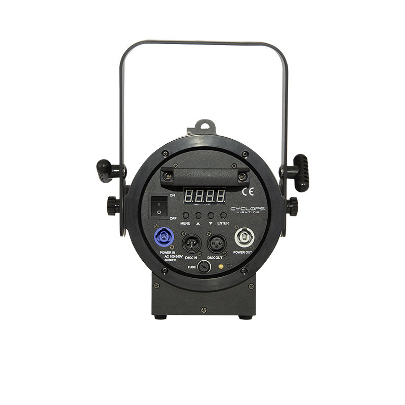 FR 100W – 100 watts Warm White powered LED Fresnel 2