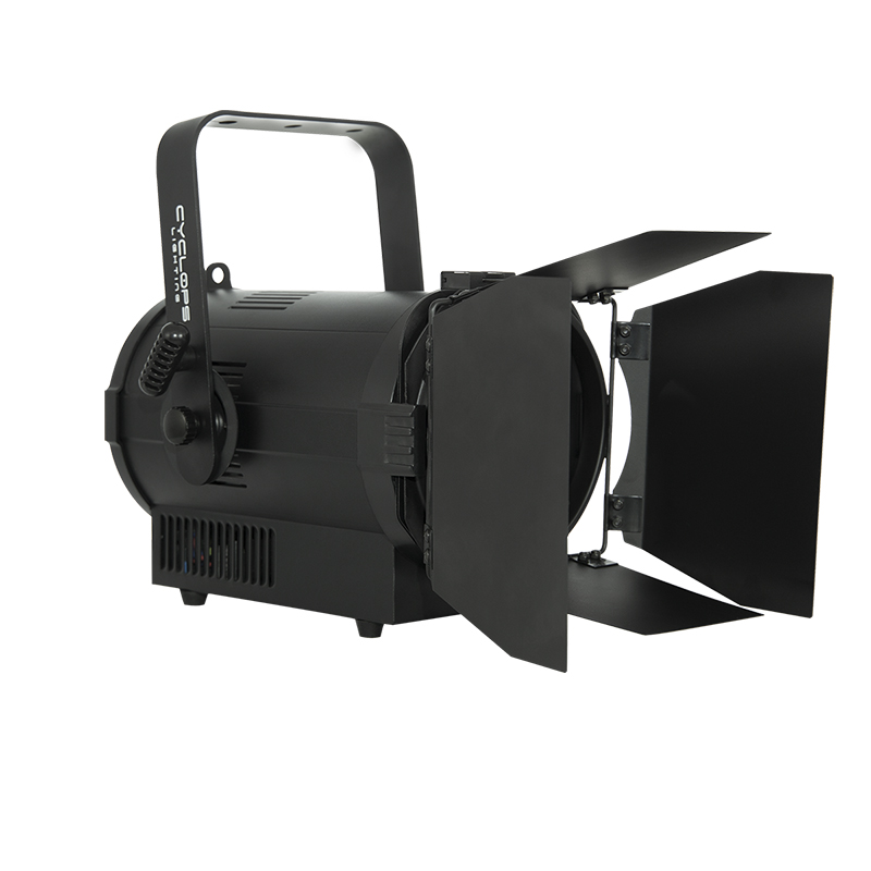 FR 100W – 100 watts Warm White powered LED Fresnel 4