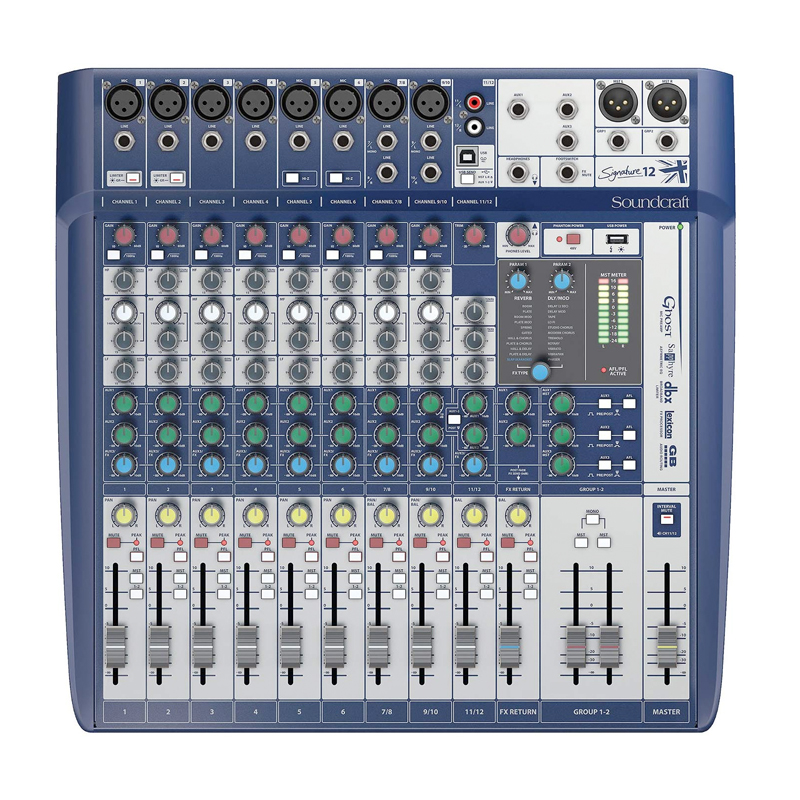 Signature 12 - Compact Analogue Mixing