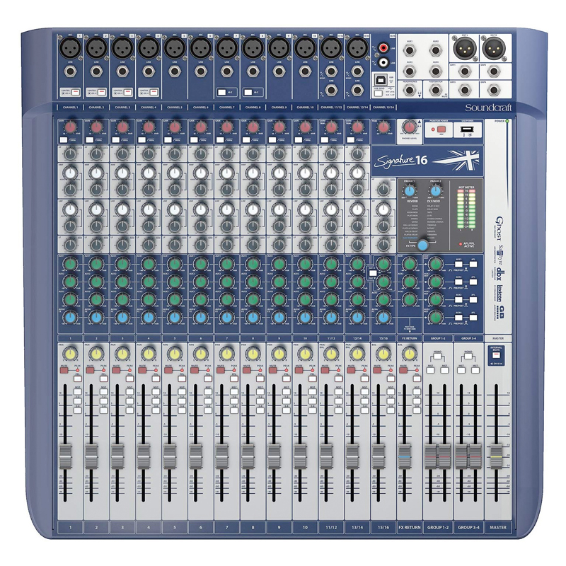 Signature 16 - Compact Analogue Mixing