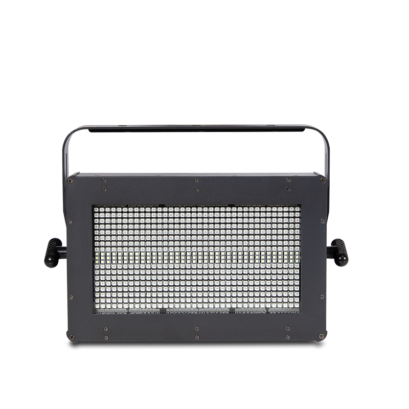 STROBE 300 - Powerful LED Strobe with a combination of 108 x 1 watt Cool white LED and 576 x 0.2 watts RGB LED strobe light