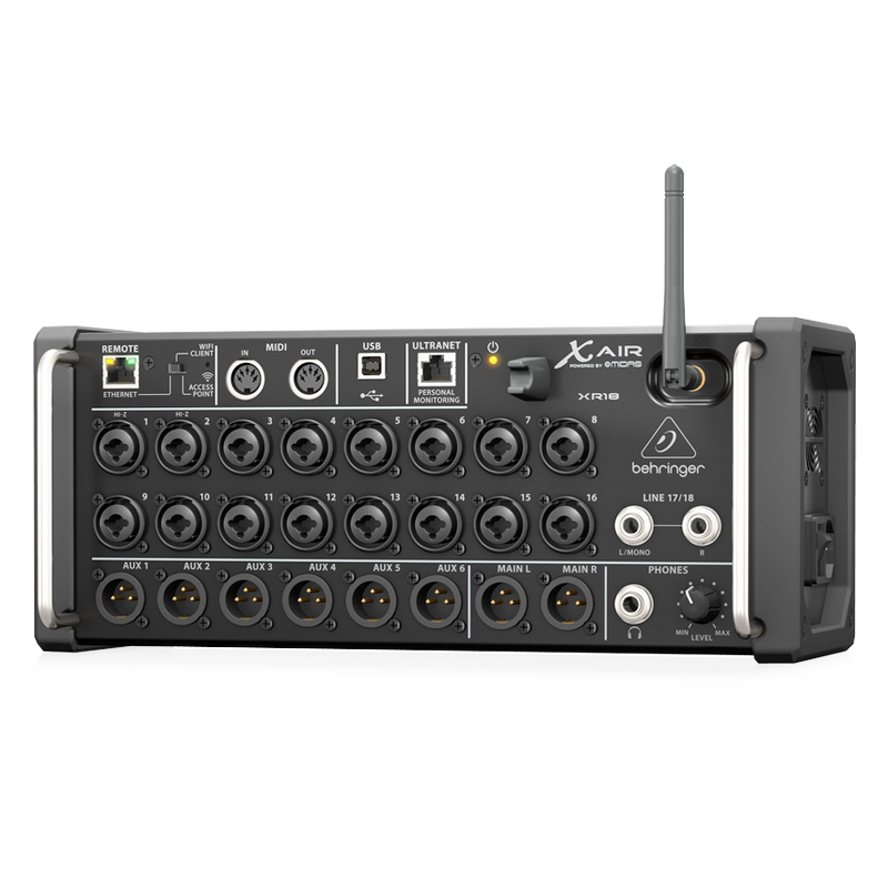 XR18 - Digital Mixer