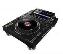 CDJ 3000 DJ player black